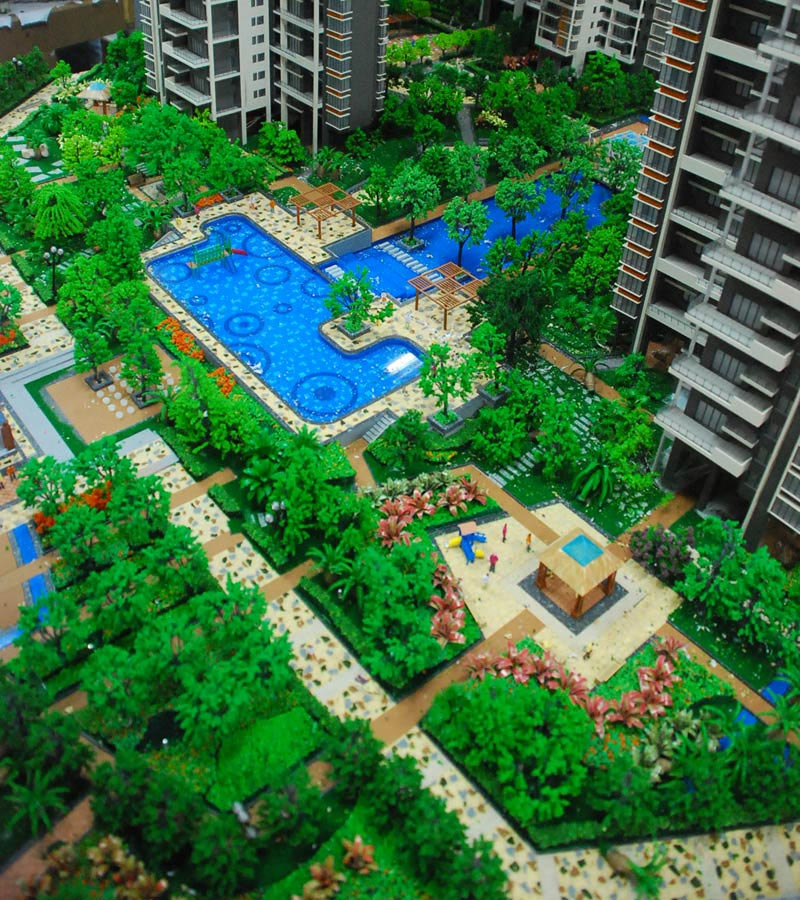 """湖南株洲""""金域·半岛""""居住区项目景观设计"""
