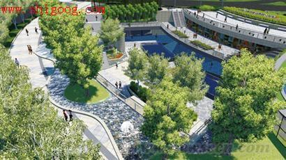 中央广场打造青岛新地标