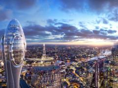 """[分享]福斯特事务所公布伦敦新地标""""郁金香""""方案,俯瞰""""小黄瓜"""""""