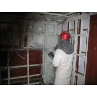 超细无机纤维喷涂-装修保温隔音吸音材料
