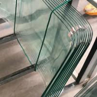 农用三轮车玻璃玻璃印度三轮摩托车挡风钢化玻璃高难度弧形加工