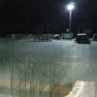 厂家直销 U形热弯玻璃 u型钢化玻璃 车辆用U形弯钢化玻璃
