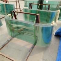 巴士玻璃弧形玻璃餐车玻璃小吃车玻璃热弯钢化玻璃异形玻璃定制